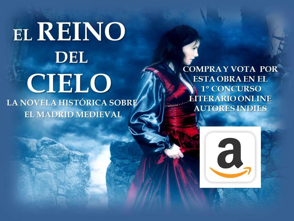 Compra y vota mi novela en Amazon