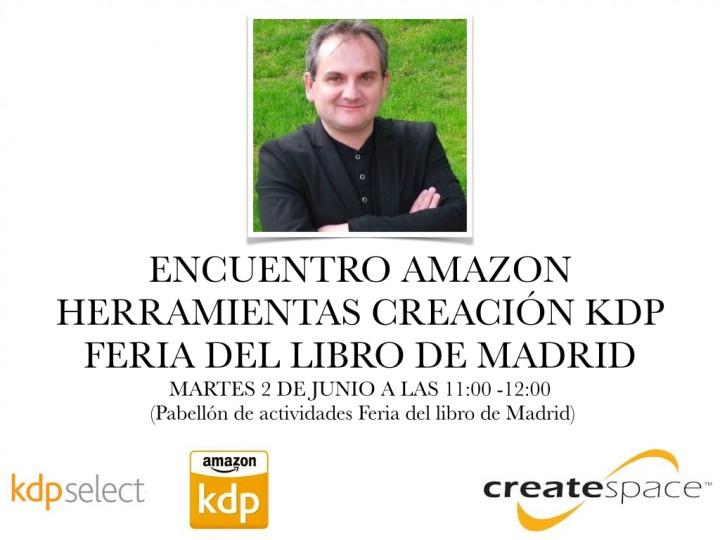 Encuentro Feria del Libro Herramientas KDP y Create Space Amazon
