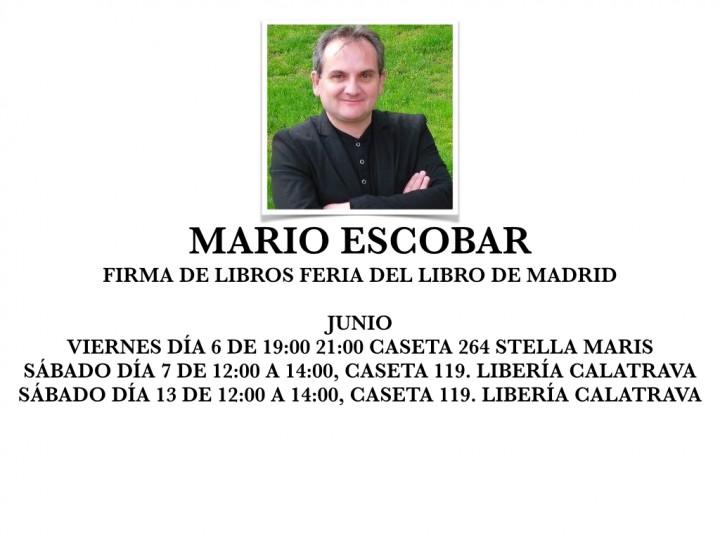 Firma de Libros Feria de Madrid 2015