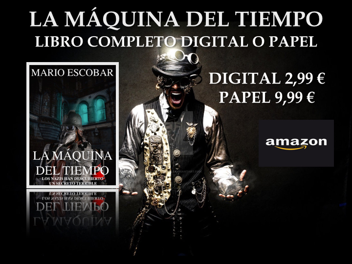 La Máquina del Tiempo ya en Amazon